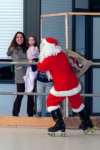 Pattinaggio Artistico, Babbo Natale sui pattini